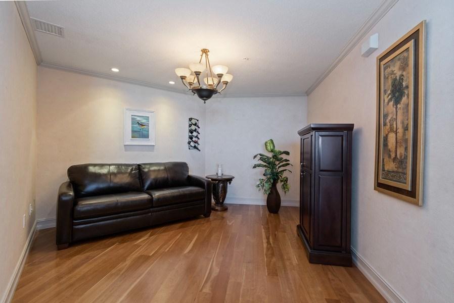 Real Estate Photography - 6051 N Ocean Dr, Unit 1703, Hollywood, FL, 33019 - Den