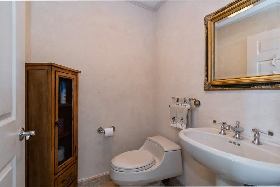 Real Estate Photography - 6051 N Ocean Dr, Unit 1703, Hollywood, FL, 33019 - Half Bath
