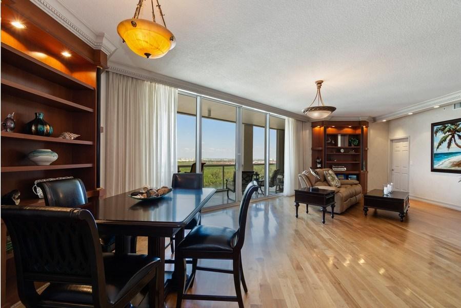 Real Estate Photography - 6051 N Ocean Dr, Unit 1703, Hollywood, FL, 33019 - Living Room / Dining Room