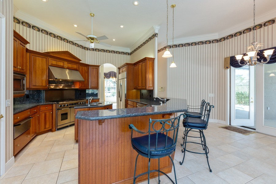 Real Estate Photography - 240 Eagle Estates, Debary, FL, 32713 - Kitchen / Breakfast Room
