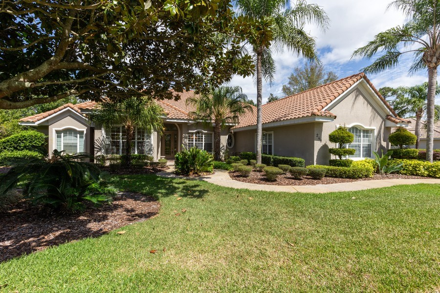Real Estate Photography - 240 Eagle Estates, Debary, FL, 32713 - Front View