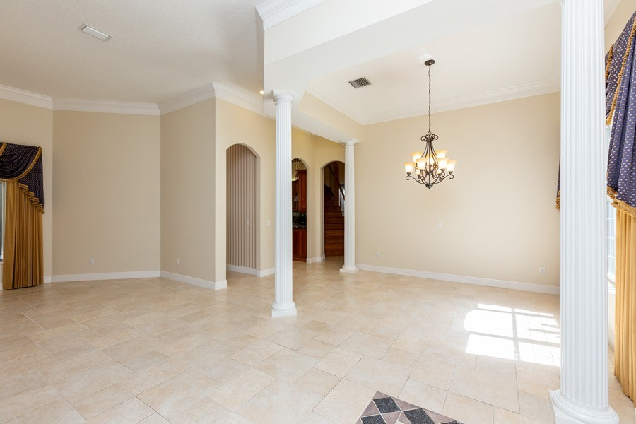 Real Estate Photography - 240 Eagle Estates, Debary, FL, 32713 - Living Room / Dining Room