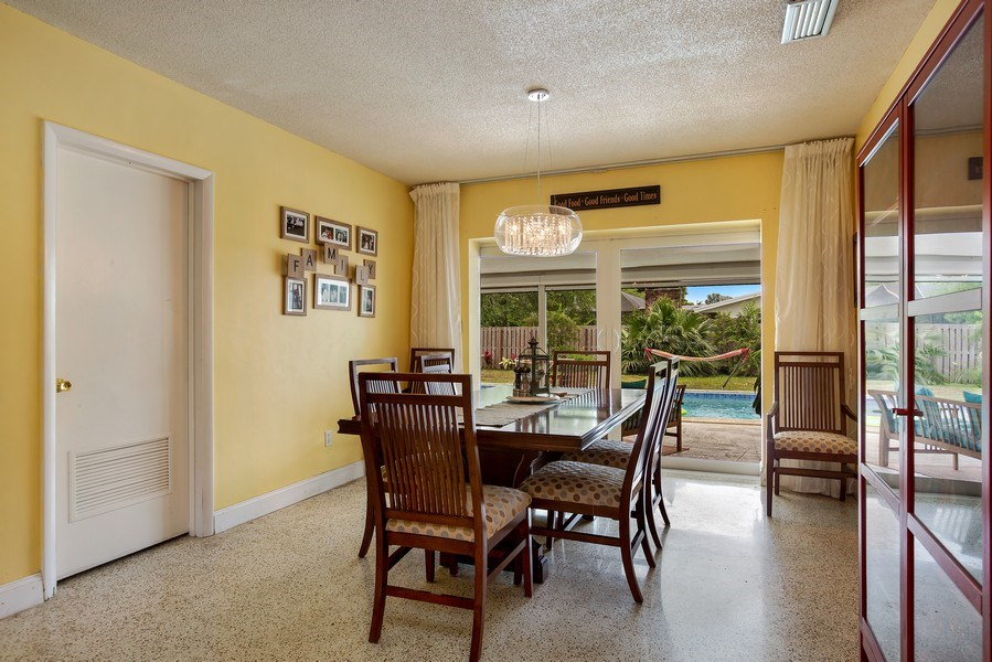 Real Estate Photography - 7900 SW 144 Street, Palmetto Bay, FL, 33158 - Dining Room