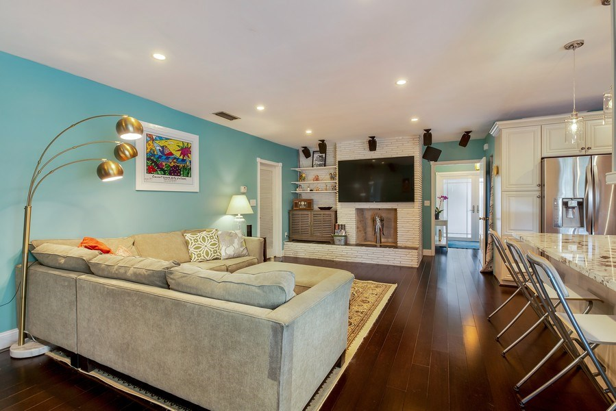 Real Estate Photography - 7900 SW 144 Street, Palmetto Bay, FL, 33158 - Family Room