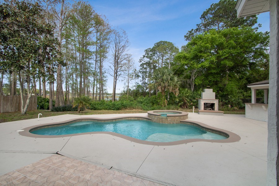 Real Estate Photography - 648 Caledonia Pl, Sanford, FL, 32771 - Pool