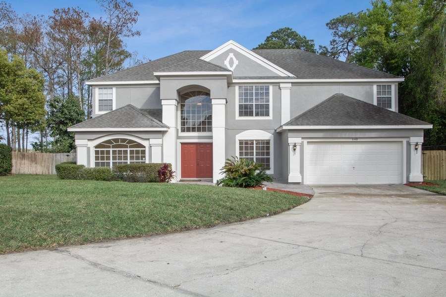 Real Estate Photography - 648 Caledonia Pl, Sanford, FL, 32771 - Front View
