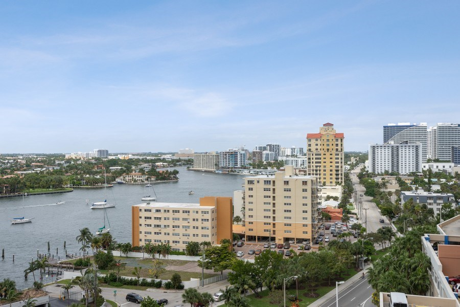 Real Estate Photography - 101 S. Fort Lauderdale Beach Blvd Apt. 1406, Fort Lauderdale, FL, 33316 - View