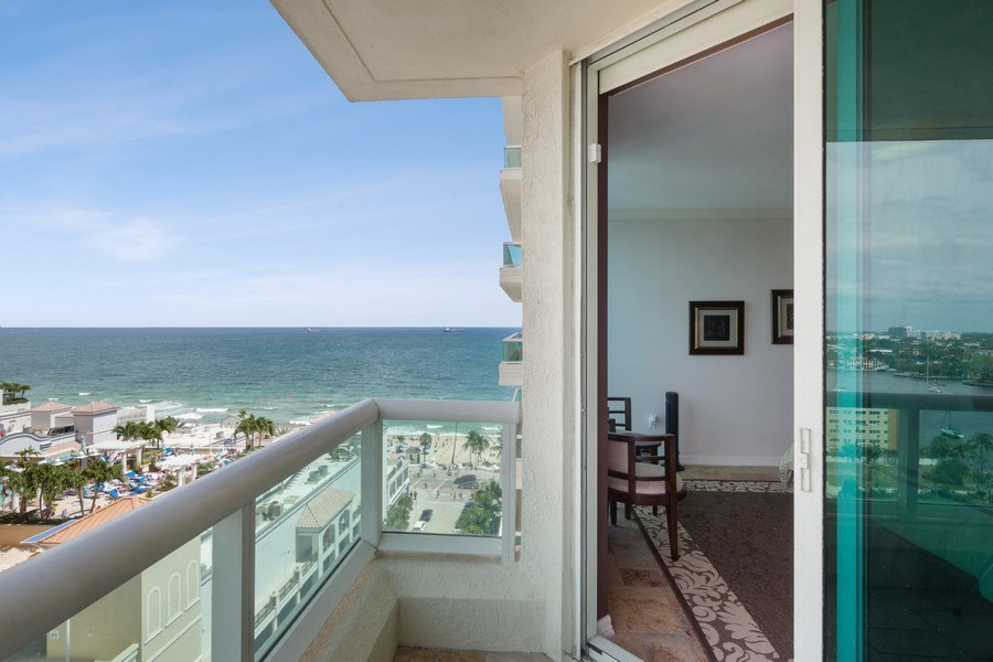 Real Estate Photography - 101 S. Fort Lauderdale Beach Blvd Apt. 1406, Fort Lauderdale, FL, 33316 -