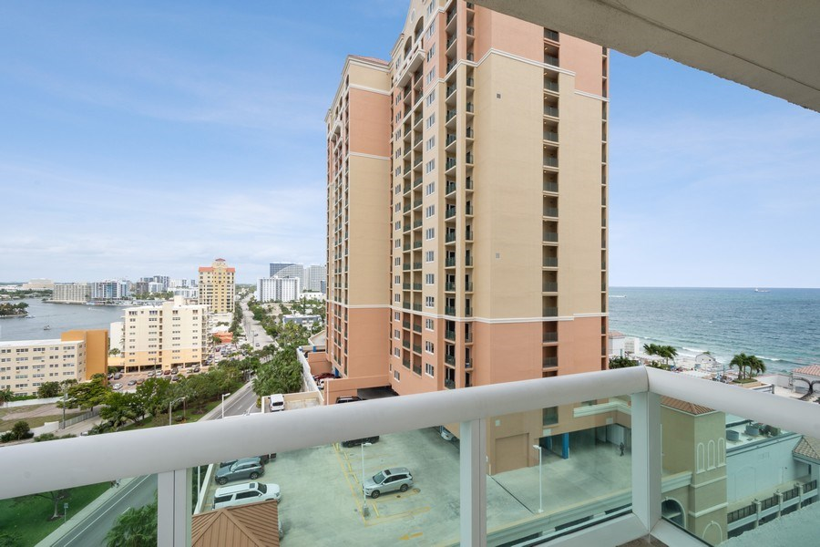 Real Estate Photography - 101 S. Fort Lauderdale Beach Blvd Apt. 1406, Fort Lauderdale, FL, 33316 - Front View