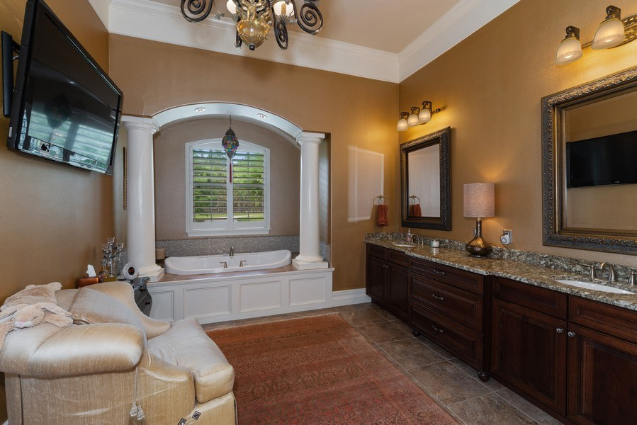 Real Estate Photography - 1630 Lake Mills Rd, Chuluota, FL, 32766 - Master Bathroom