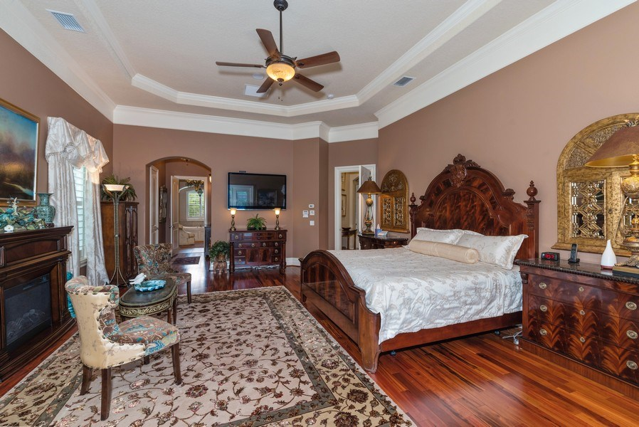 Real Estate Photography - 1630 Lake Mills Rd, Chuluota, FL, 32766 - Master Bedroom