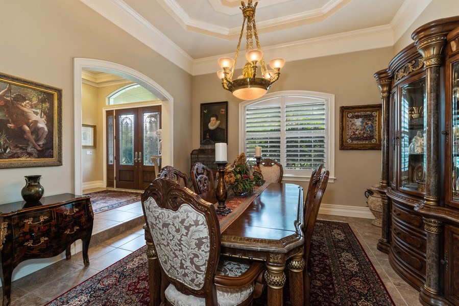 Real Estate Photography - 1630 Lake Mills Rd, Chuluota, FL, 32766 - Dining Room