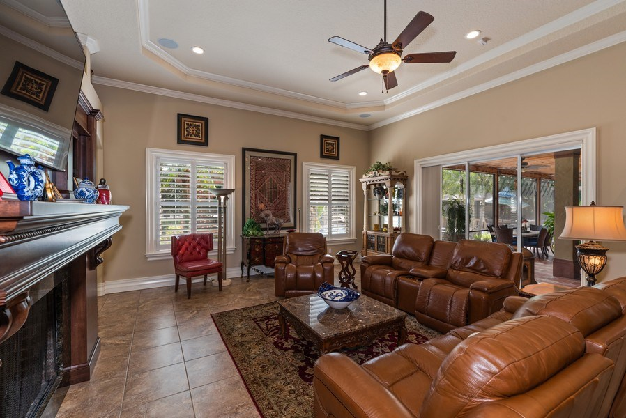 Real Estate Photography - 1630 Lake Mills Rd, Chuluota, FL, 32766 - Family Room