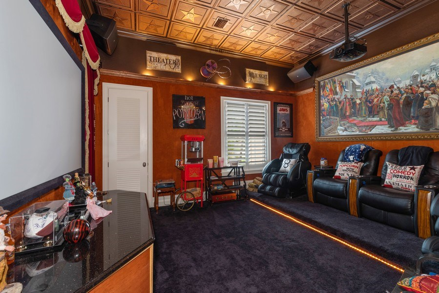 Real Estate Photography - 1630 Lake Mills Rd, Chuluota, FL, 32766 - Theater