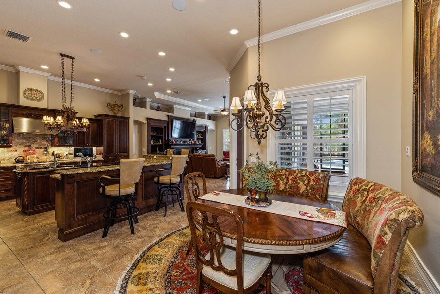 Real Estate Photography - 1630 Lake Mills Rd, Chuluota, FL, 32766 - Breakfast Nook