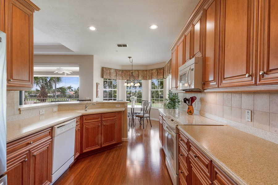 Real Estate Photography - 4655 Winged Foot Court Unit 204, Naples, FL, 34112 - Kitchen