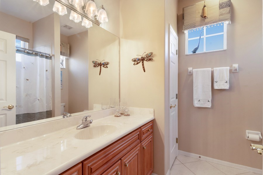Real Estate Photography - 4655 Winged Foot Court Unit 204, Naples, FL, 34112 - Bathroom