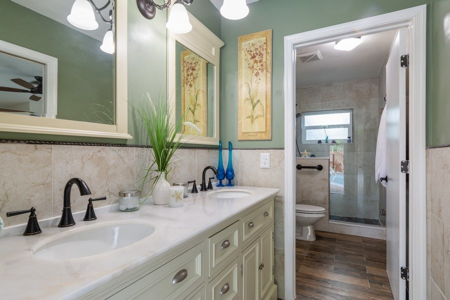 Real Estate Photography - 2434 SW 19th St, Fort Lauderdale, FL, 33312 - Master Bathroom
