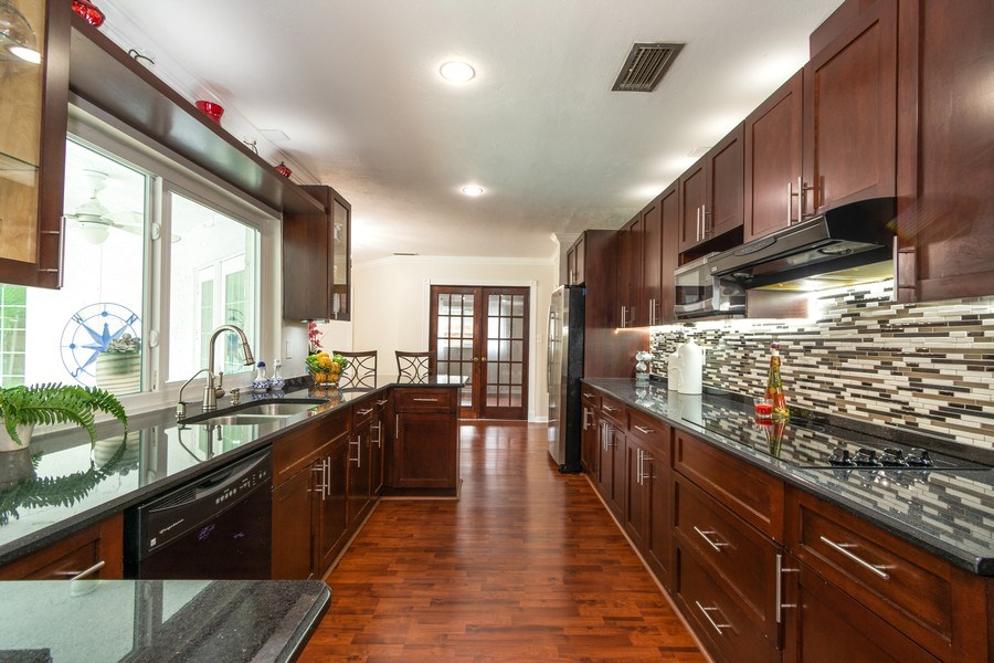 Real Estate Photography - 2434 SW 19th St, Fort Lauderdale, FL, 33312 - Kitchen