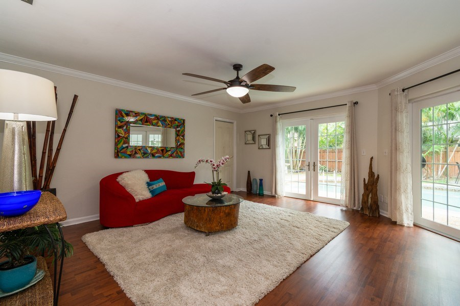 Real Estate Photography - 2434 SW 19th St, Fort Lauderdale, FL, 33312 - Family Room