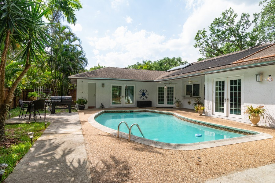Real Estate Photography - 2434 SW 19th St, Fort Lauderdale, FL, 33312 - Rear View