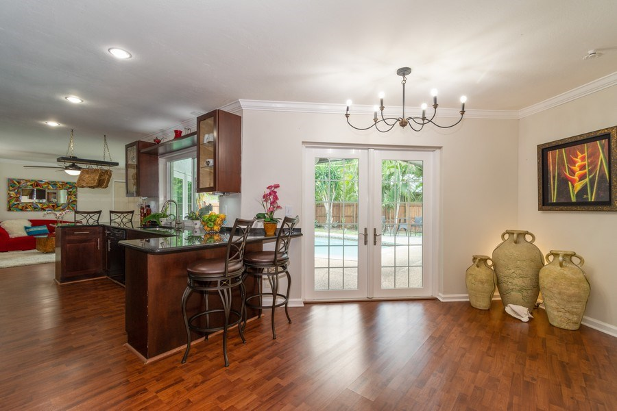 Real Estate Photography - 2434 SW 19th St, Fort Lauderdale, FL, 33312 - BREAKFAST NOOK/OFFICE
