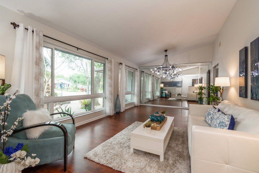 Real Estate Photography - 2434 SW 19th St, Fort Lauderdale, FL, 33312 - Living Room / Dining Room