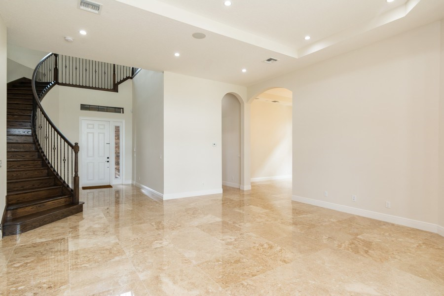 Real Estate Photography - 10262 Sweet Bay Manor, Parkland, FL, 33076 - Foyer/Living Room