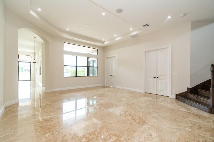 Real Estate Photography - 10262 Sweet Bay Manor, Parkland, FL, 33076 - Living Room