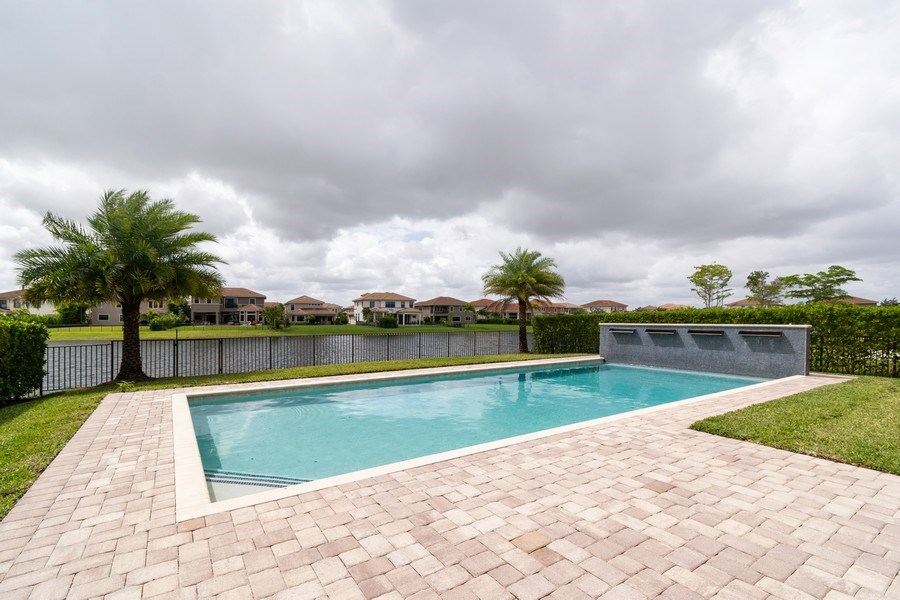 Real Estate Photography - 10262 Sweet Bay Manor, Parkland, FL, 33076 - Pool