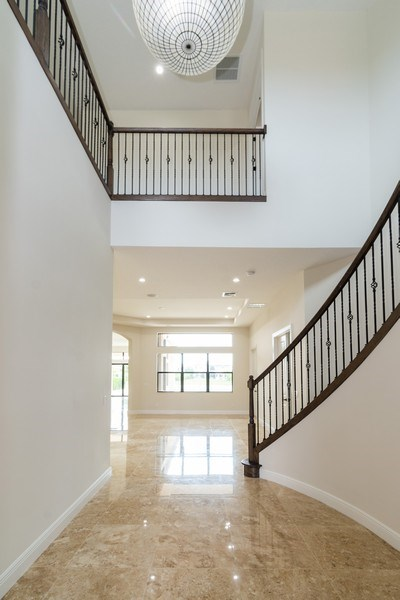 Real Estate Photography - 10262 Sweet Bay Manor, Parkland, FL, 33076 - Foyer