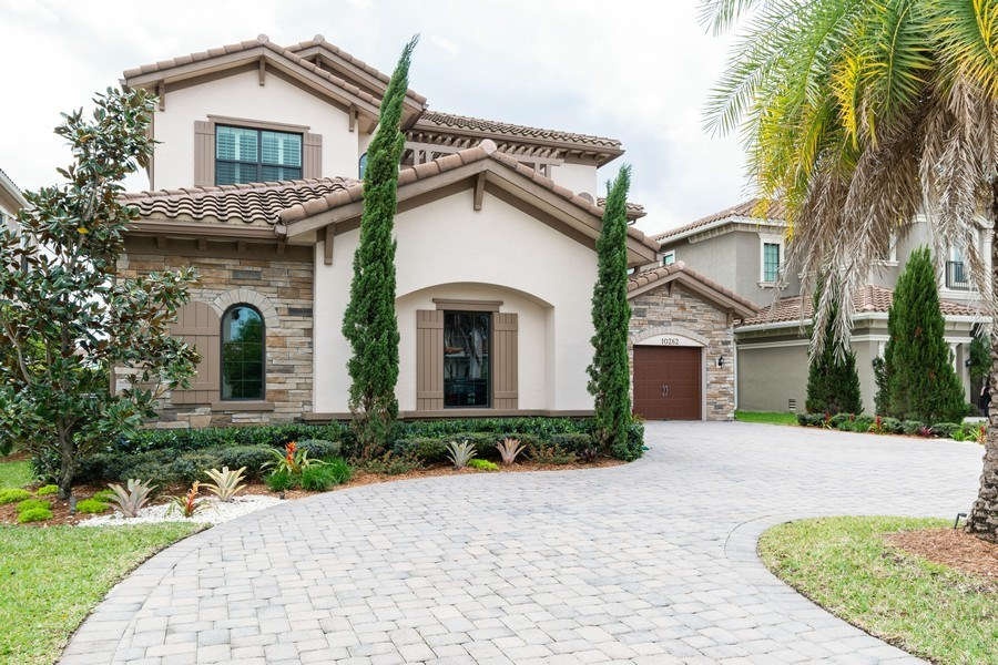 Real Estate Photography - 10262 Sweet Bay Manor, Parkland, FL, 33076 - Front View