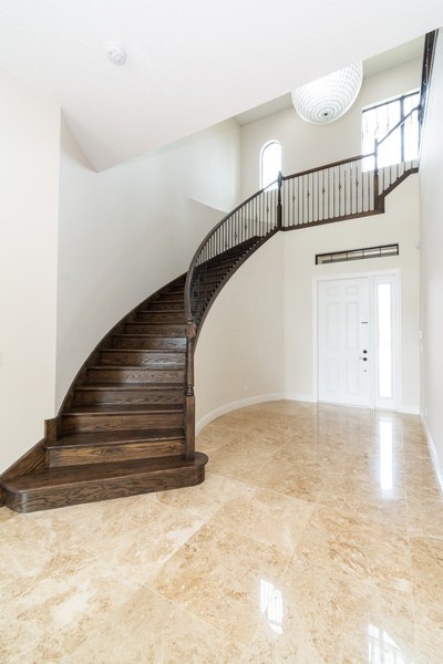 Real Estate Photography - 10262 Sweet Bay Manor, Parkland, FL, 33076 - Staircase