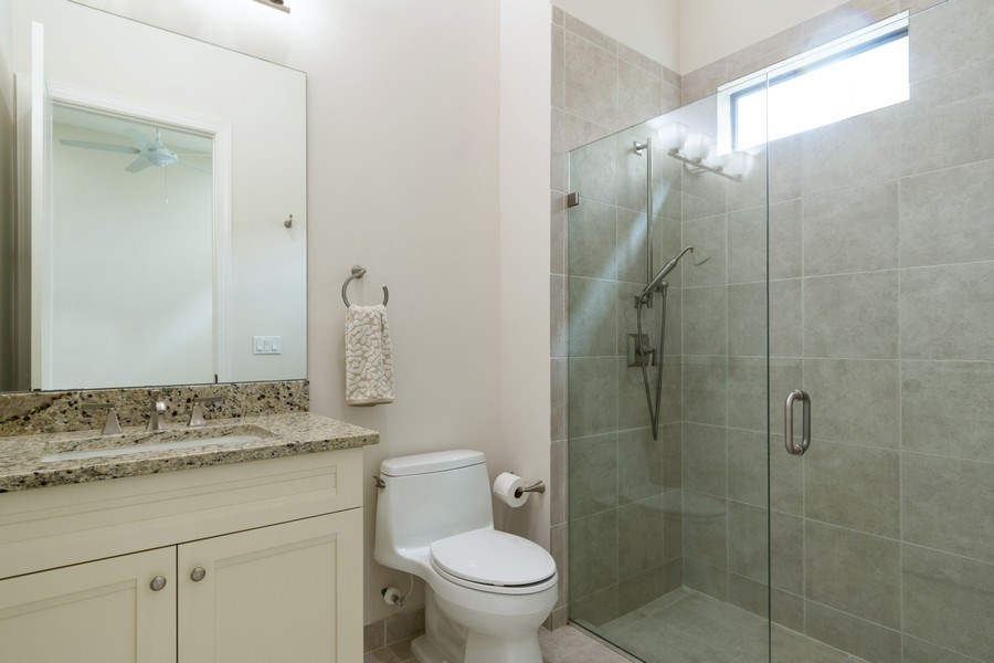 Real Estate Photography - 10262 Sweet Bay Manor, Parkland, FL, 33076 - 5th Bedroom (Main Floor Master)  Ensuite Bathroom