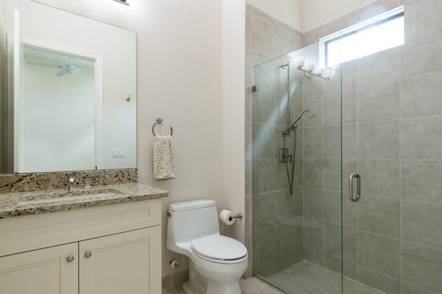Real Estate Photography - 10262 Sweet Bay Manor, Parkland, FL, 33076 - 5th Bedroom (Main Floor Master)  Ensuite Bathroom