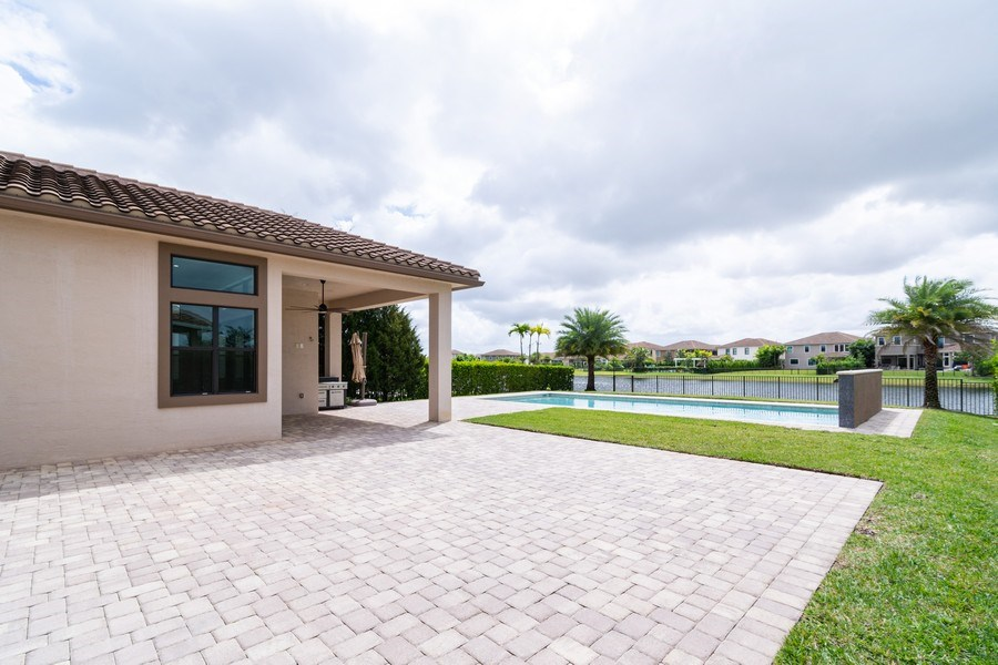 Real Estate Photography - 10262 Sweet Bay Manor, Parkland, FL, 33076 - Patio