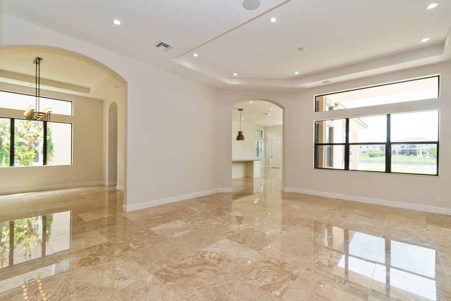 Real Estate Photography - 10262 Sweet Bay Manor, Parkland, FL, 33076 - Living Room / Dining Room