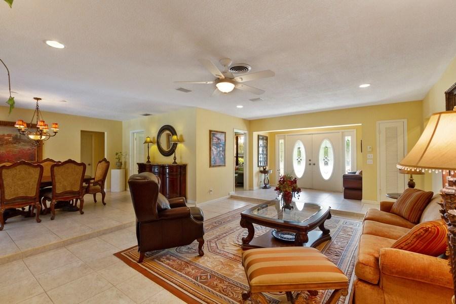 Real Estate Photography - 4700 NE 26 Ave, Ft Lauderdale, FL, 33308 - Living Room