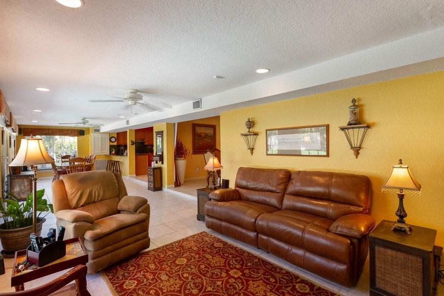 Real Estate Photography - 4700 NE 26 Ave, Ft Lauderdale, FL, 33308 - Family Room