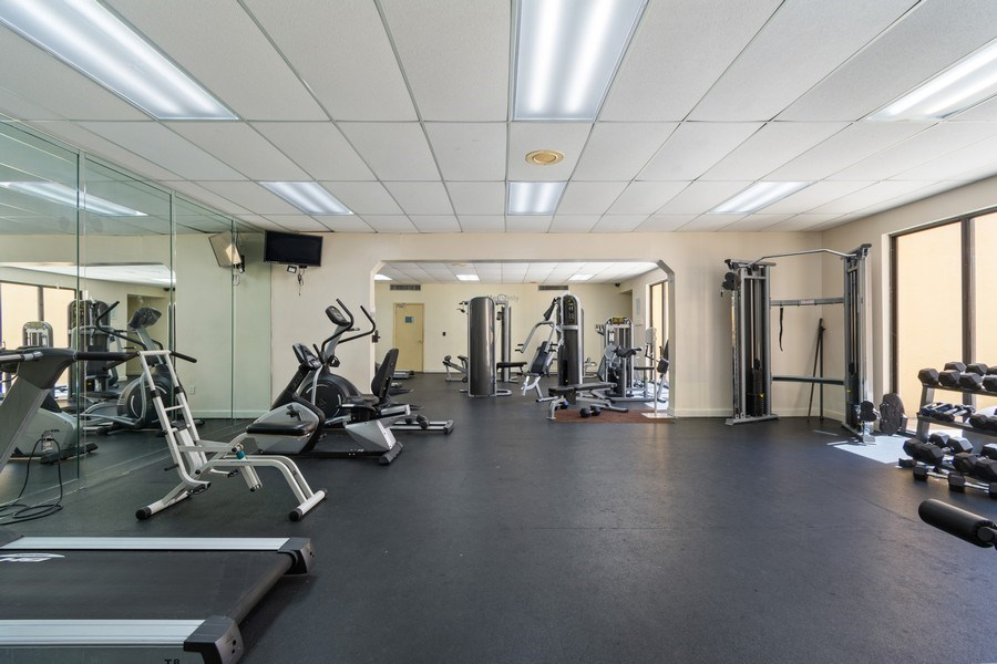 Real Estate Photography - 210 174th St, 1719, Sunny Isles Beach, FL, 33160 - Gym