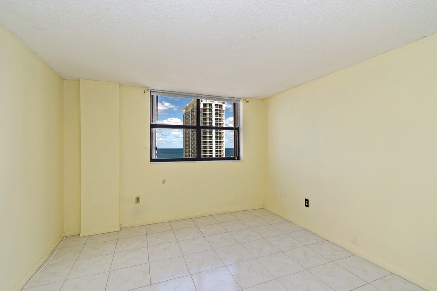 Real Estate Photography - 210 174th St, 1719, Sunny Isles Beach, FL, 33160 - Second Bedroom