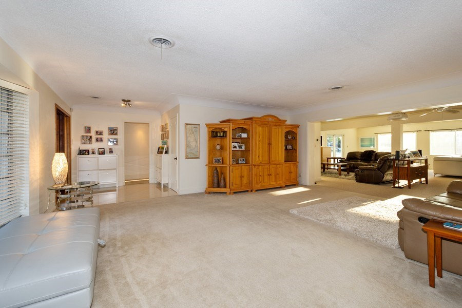 Real Estate Photography - 17 Cayuga Road, Sea Ranch Lakes, FL, 33308 - Living Room