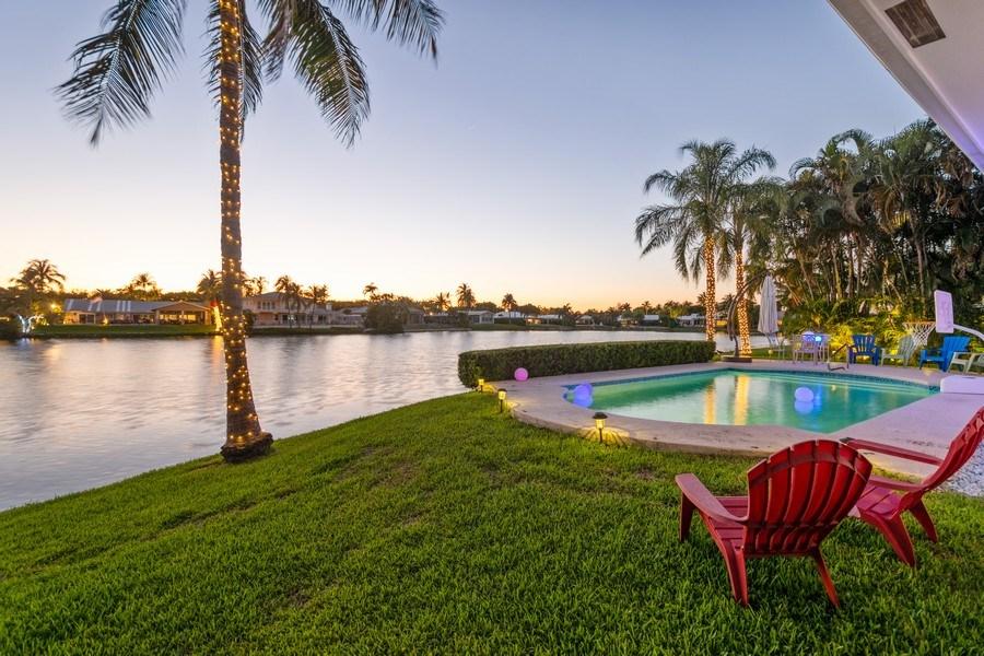 Real Estate Photography - 17 Cayuga Road, Sea Ranch Lakes, FL, 33308 - Waterfront