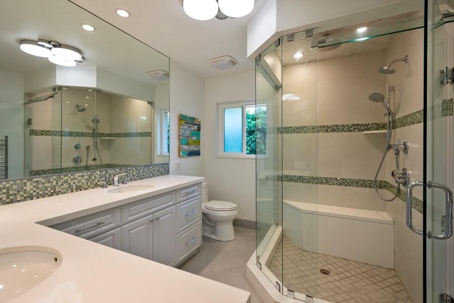 Real Estate Photography - 17 Cayuga Road, Sea Ranch Lakes, FL, 33308 - Master Bathroom