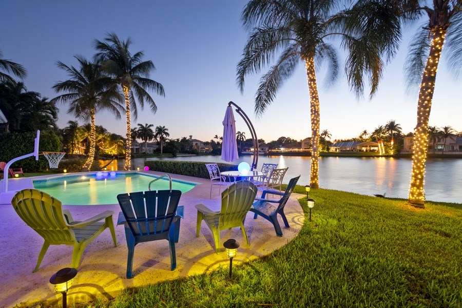 Real Estate Photography - 17 Cayuga Road, Sea Ranch Lakes, FL, 33308 - Pool