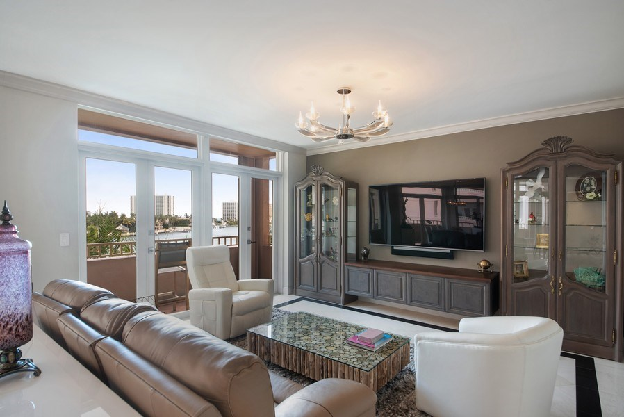 Real Estate Photography - 300 SE 5th Avenue, Unit #4080, Boca Raton, FL, 33432 - Family room/optional 3rd bedroom area