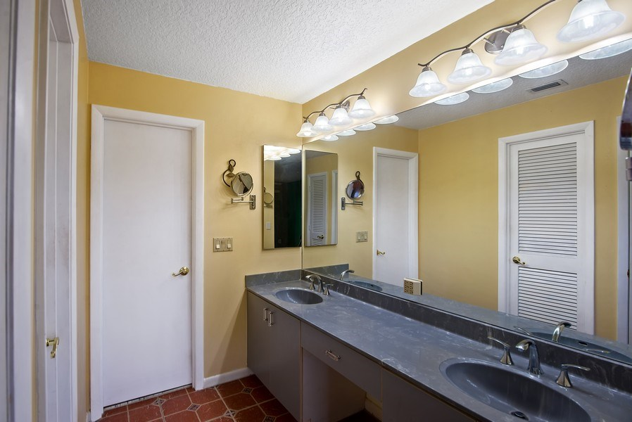 Real Estate Photography - 2459 SW Bobalonk Court, Palm City, FL, 34990 - Master Bathroom