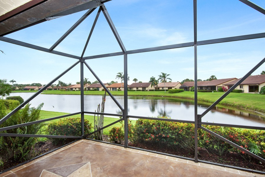 Real Estate Photography - 2459 SW Bobalonk Court, Palm City, FL, 34990 - Patio