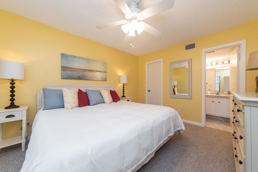 Real Estate Photography - 7190 Golf Colony Ct, 104, Lake Worth, FL, 33467 - Master Bedroom