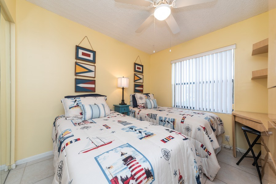 Real Estate Photography - 7190 Golf Colony Ct, 104, Lake Worth, FL, 33467 - Bedroom